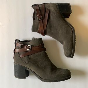 Sam Edelman Suede Leather Ankle Boot